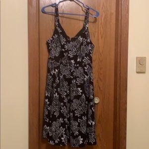 Size 1 floral torrid dress